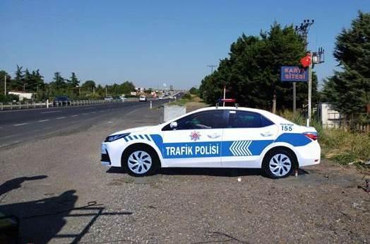 maket trafik polisi